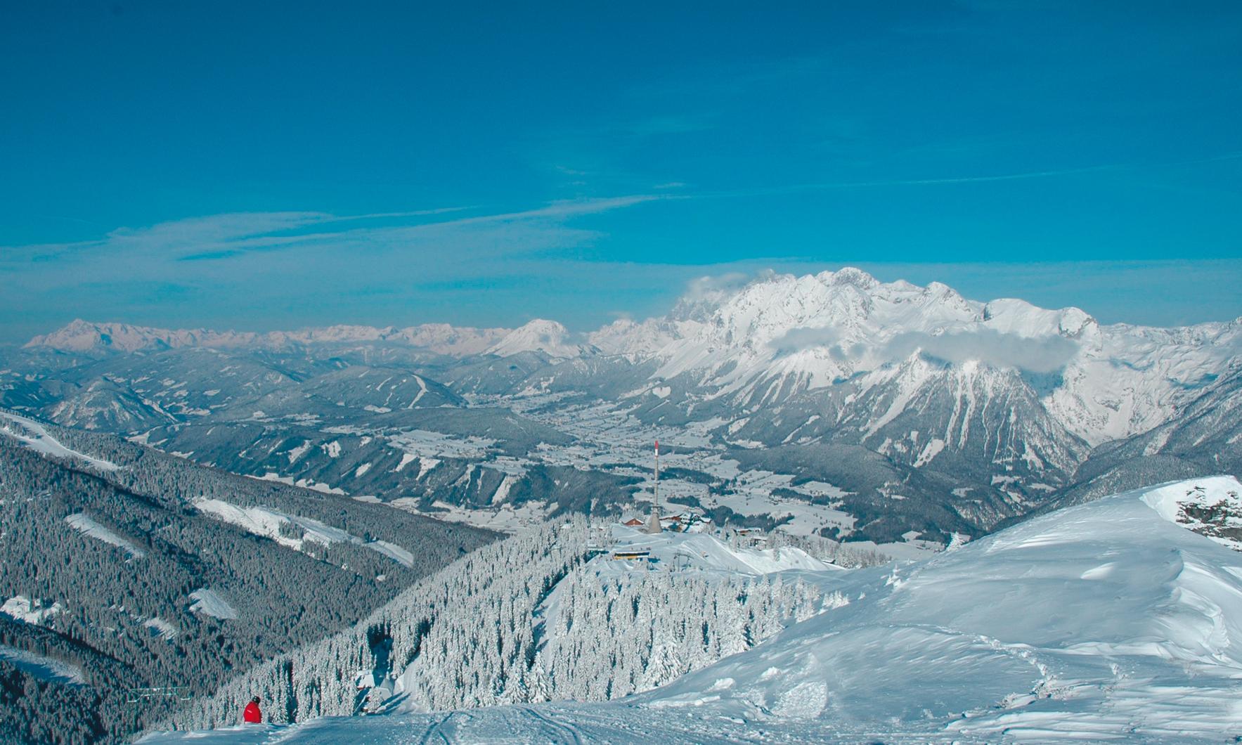 Skigebiet hauser kaibling ski amade live webcam