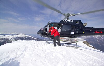 VIP Heli-Ski in the Hauser Kaibling ski resort