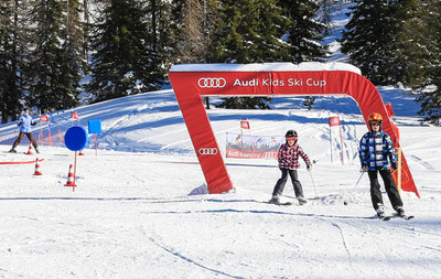 NEW: Audi-kids' area in the Kaiblingalm