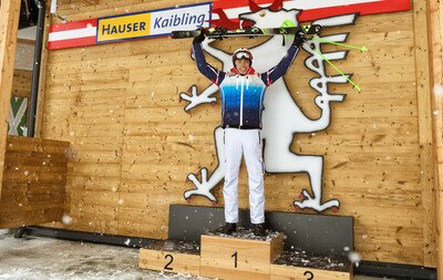 Ski races on the Hauser Kaibling
