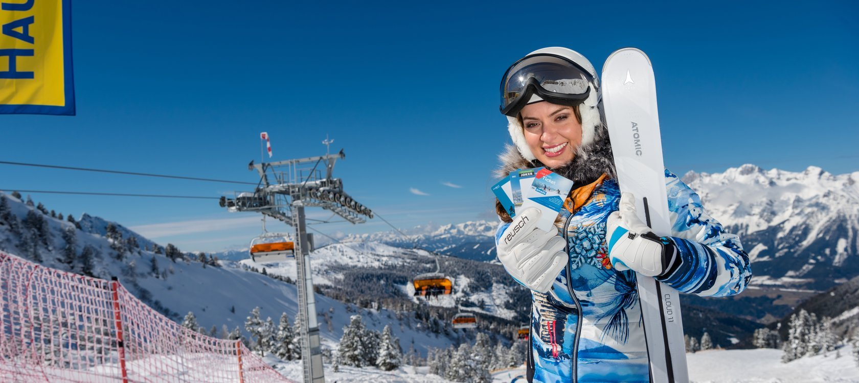 Season ticket Ski amade - Order ski pass online and enjoy your skiing day.