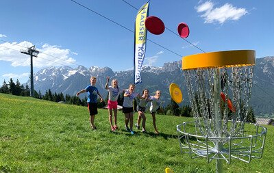 New: Disc-Golf Course