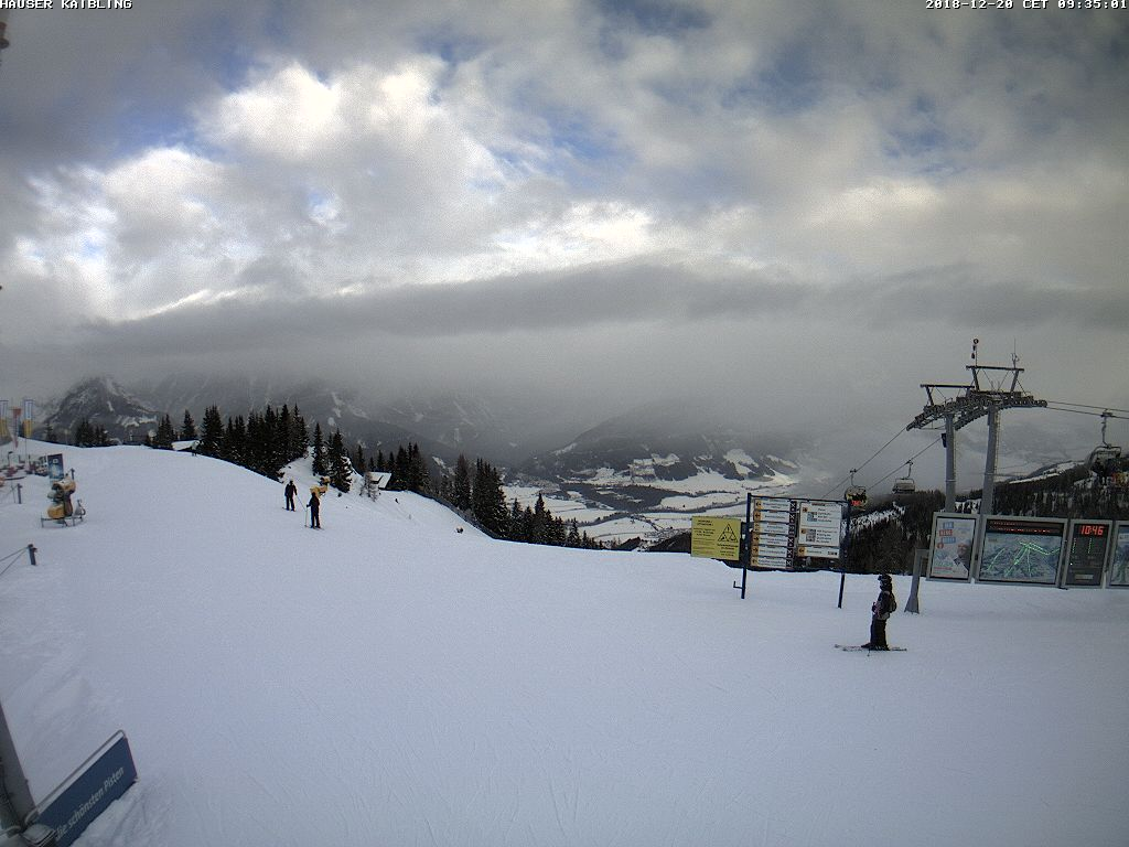 Webcam Quattralpina Bergstation auf 1.865m : Webcams Ski amadé